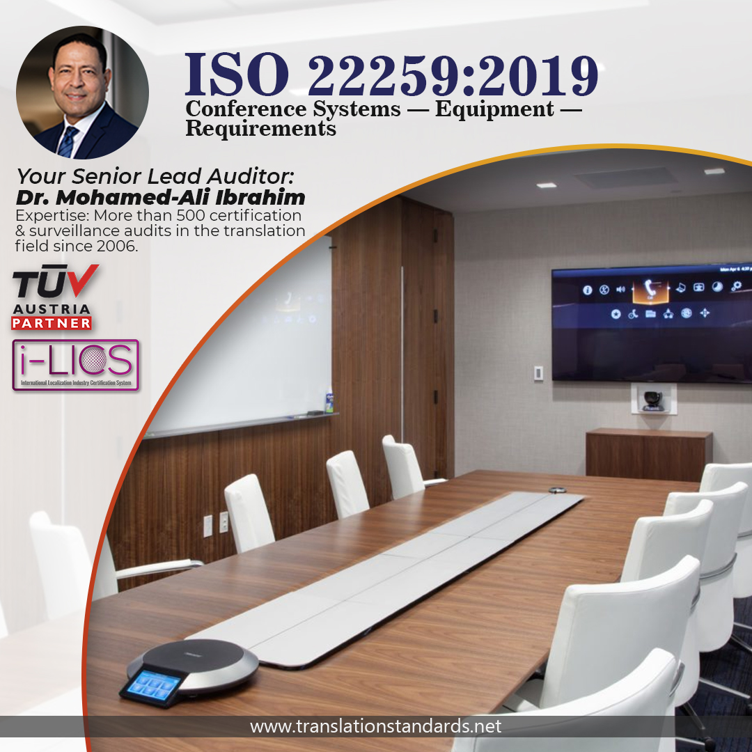 ISO 22259:2019